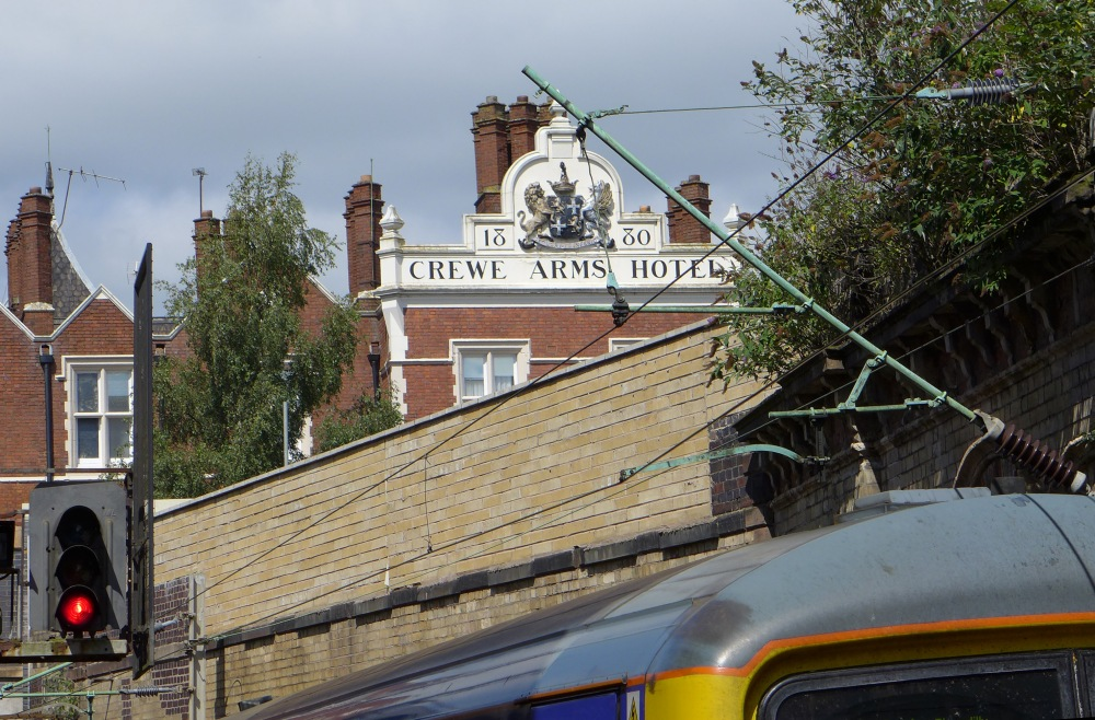 1880 Crewe Arms Hotel, Nantwich Road, Crewe, Cheshire2